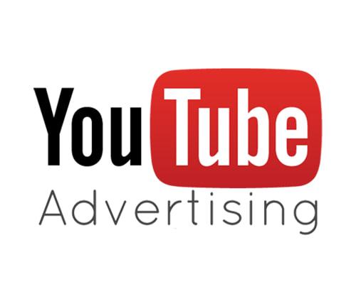 YouTube advertising logo