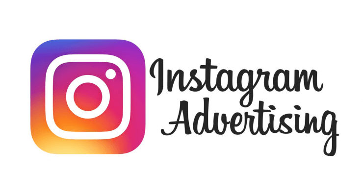 Instagram advertising logo